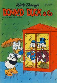 Cover Thumbnail for Donald Duck & Co (Hjemmet / Egmont, 1948 series) #10/1966