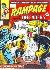 Cover Thumbnail for Rampage (Marvel UK, 1977 series) #16