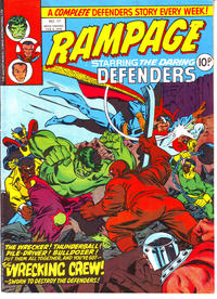 Cover Thumbnail for Rampage (Marvel UK, 1977 series) #17