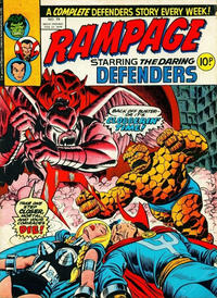 Cover Thumbnail for Rampage (Marvel UK, 1977 series) #19