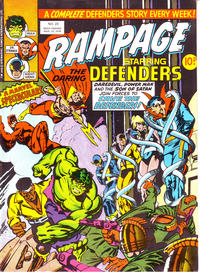 Cover Thumbnail for Rampage (Marvel UK, 1977 series) #23