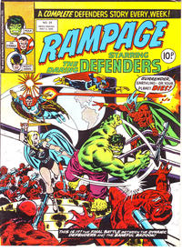 Cover Thumbnail for Rampage (Marvel UK, 1977 series) #29