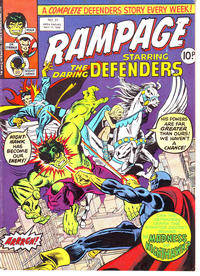 Cover Thumbnail for Rampage (Marvel UK, 1977 series) #31