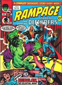 Cover for Rampage (Marvel UK, 1977 series) #34
