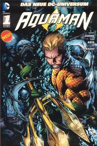 Cover Thumbnail for Aquaman (Panini Deutschland, 2012 series) #1 - Der Graben