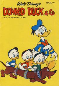 Cover Thumbnail for Donald Duck & Co (Hjemmet / Egmont, 1948 series) #5/1966