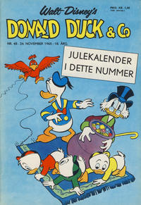 Cover for Donald Duck & Co (Hjemmet / Egmont, 1948 series) #48/1965