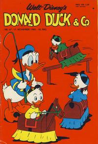 Cover Thumbnail for Donald Duck & Co (Hjemmet / Egmont, 1948 series) #47/1965