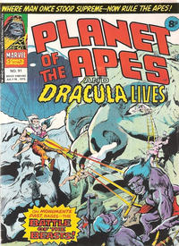 Cover Thumbnail for Planet of the Apes (Marvel UK, 1974 series) #91