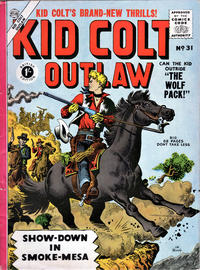 Cover Thumbnail for Kid Colt Outlaw (Thorpe & Porter, 1950 ? series) #31