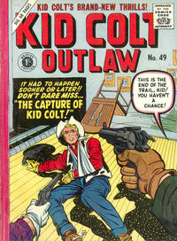 Cover Thumbnail for Kid Colt Outlaw (Thorpe & Porter, 1950 ? series) #49