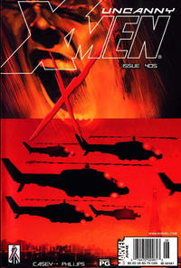 Cover Thumbnail for The Uncanny X-Men (Marvel, 1981 series) #405 [Newsstand]