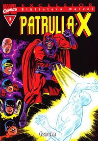 Cover Thumbnail for Biblioteca Marvel: Patrulla-X (Planeta DeAgostini, 2000 series) #3