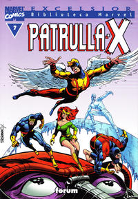 Cover Thumbnail for Biblioteca Marvel: Patrulla-X (Planeta DeAgostini, 2000 series) #7