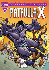 Cover Thumbnail for Biblioteca Marvel: Patrulla-X (Planeta DeAgostini, 2000 series) #11