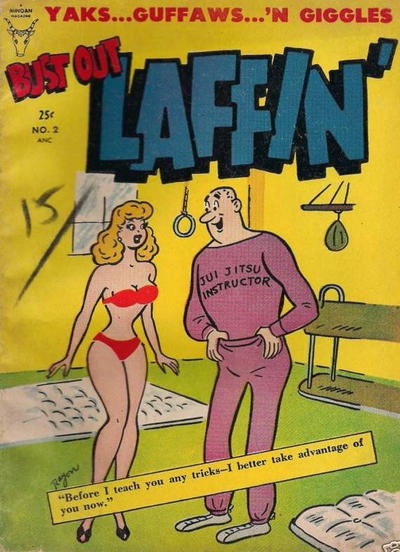 Cover for Bust Out Laffin' (Toby, 1954 series) #2