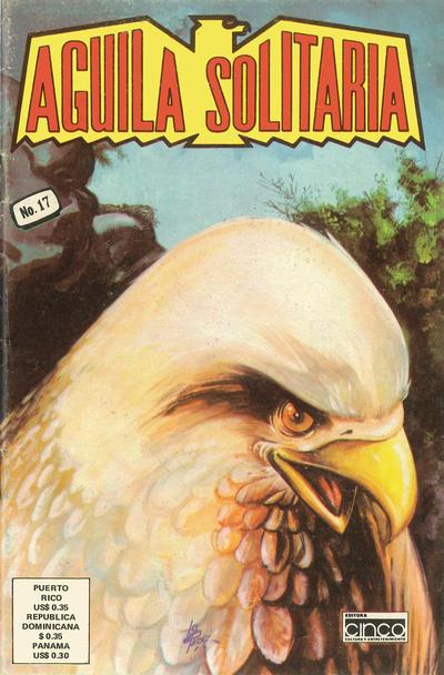 Cover for Aguila Solitaria (Editora Cinco, 1976 ? series) #17