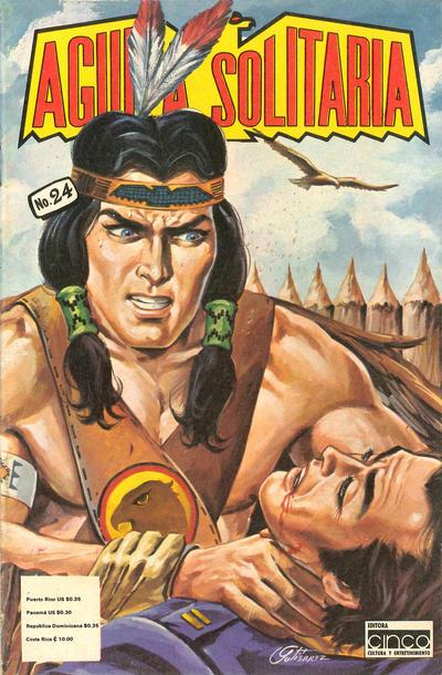 Cover for Aguila Solitaria (Editora Cinco, 1976 ? series) #24