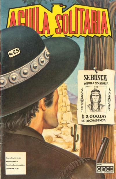 Cover for Aguila Solitaria (Editora Cinco, 1976 ? series) #25