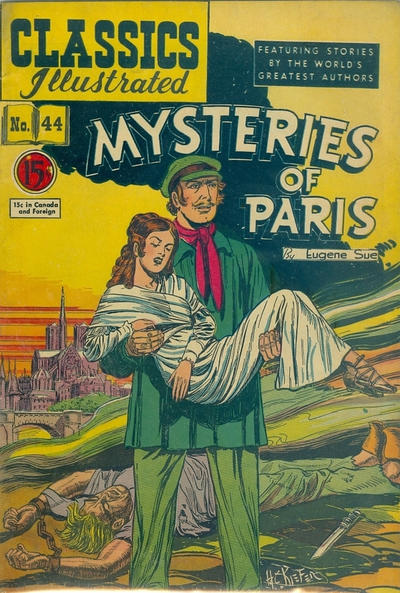 Cover for Classics Illustrated (Gilberton, 1948 series) #44