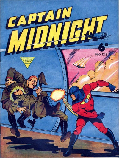 Cover for Captain Midnight (L. Miller & Son, 1950 series) #129