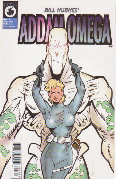 Cover for Addam Omega (Antarctic Press, 1997 series) #2