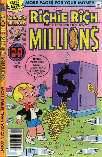 Cover for Richie Rich Millions (Harvey, 1961 series) #95
