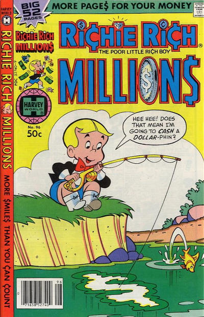 Cover for Richie Rich Millions (Harvey, 1961 series) #96
