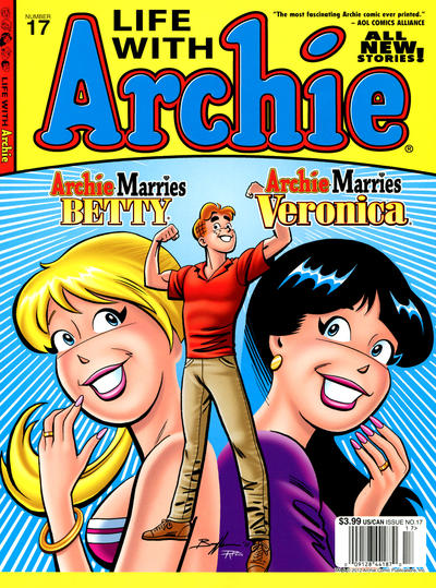 Cover for Life with Archie (Archie, 2010 series) #17