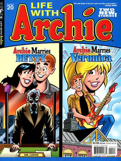 Cover for Life with Archie (Archie, 2010 series) #20