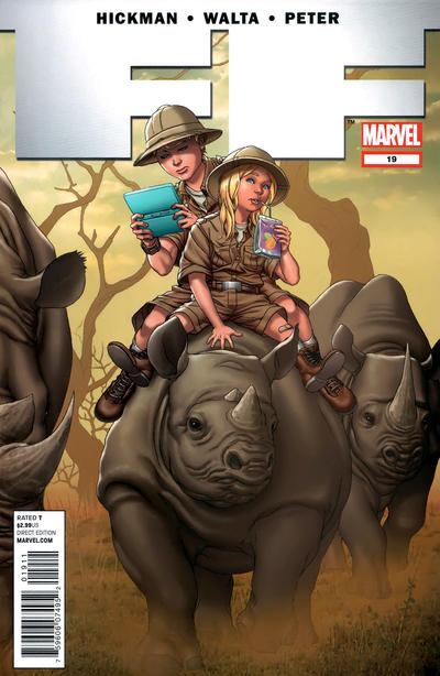 Cover for FF (Marvel, 2011 series) #19