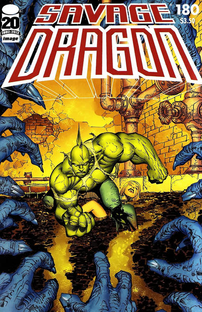 Cover for Savage Dragon (Image, 1993 series) #180