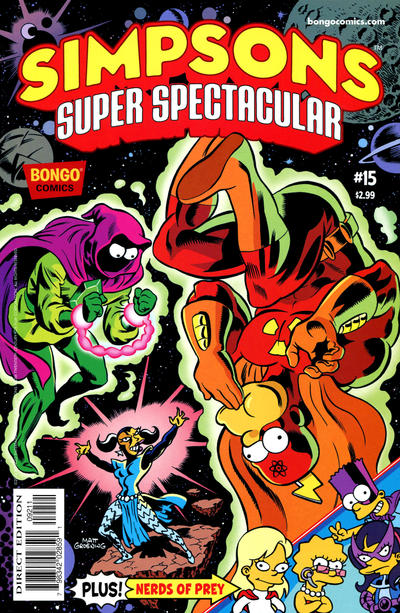 Cover for Bongo Comics Presents Simpsons Super Spectacular (Bongo, 2005 series) #15