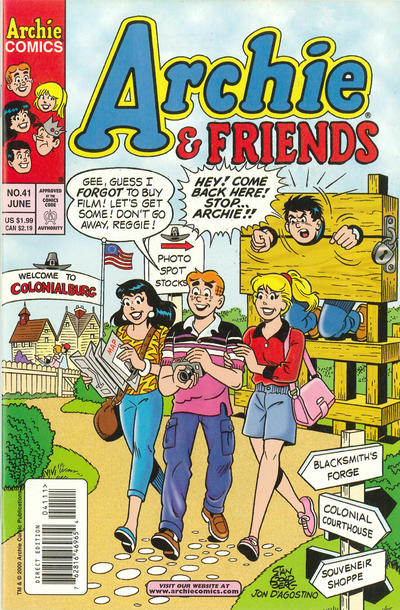 Cover for Archie & Friends (Archie, 1992 series) #41