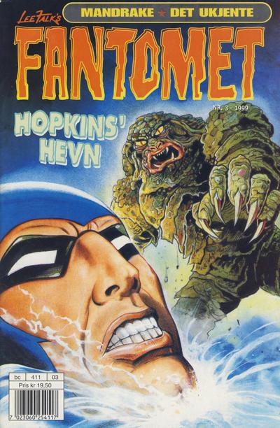 Cover for Fantomet (Hjemmet / Egmont, 1998 series) #3/1999