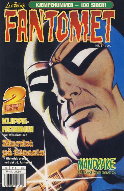 Cover for Fantomet (Hjemmet / Egmont, 1998 series) #6/1999