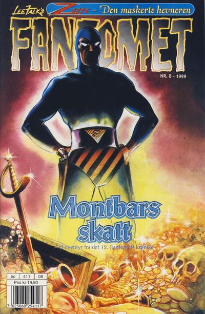 Cover for Fantomet (Hjemmet / Egmont, 1998 series) #8/1999