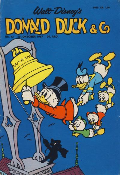 Cover for Donald Duck & Co (Hjemmet / Egmont, 1948 series) #43/1967