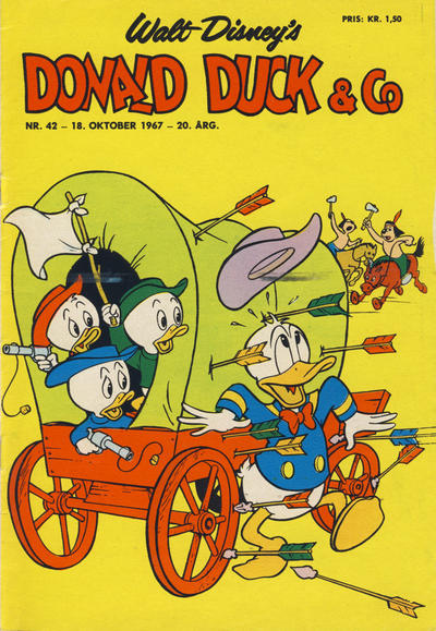 Cover for Donald Duck & Co (Hjemmet / Egmont, 1948 series) #42/1967