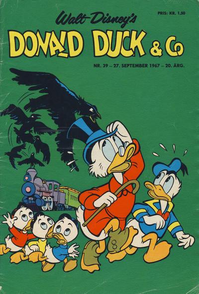 Cover for Donald Duck & Co (Hjemmet / Egmont, 1948 series) #39/1967