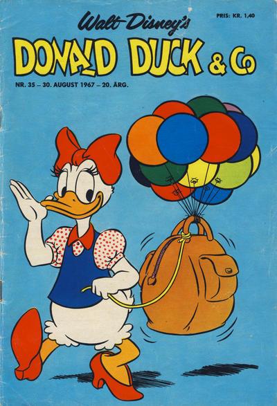 Cover for Donald Duck & Co (Hjemmet / Egmont, 1948 series) #35/1967