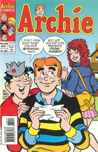 Cover for Archie (Archie, 1959 series) #430