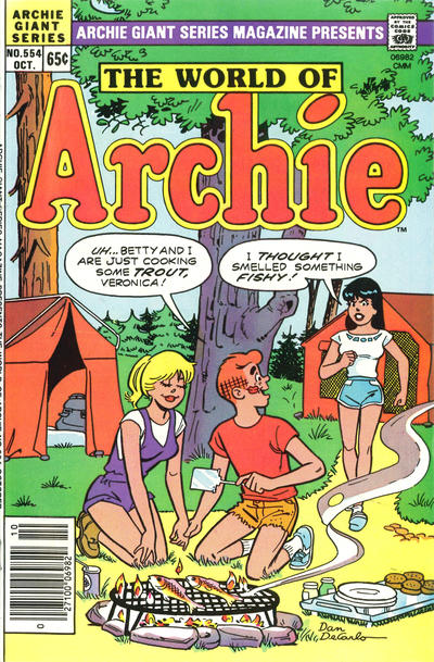 Cover for Archie Giant Series Magazine (Archie, 1954 series) #554