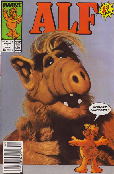Cover for ALF (Marvel, 1988 series) #1 [Direct]