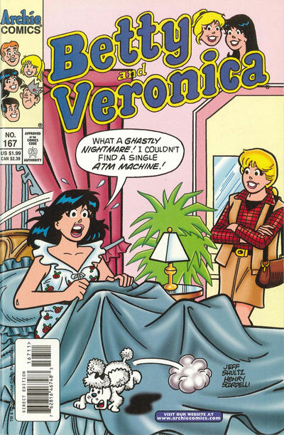 Cover for Betty and Veronica (Archie, 1987 series) #167