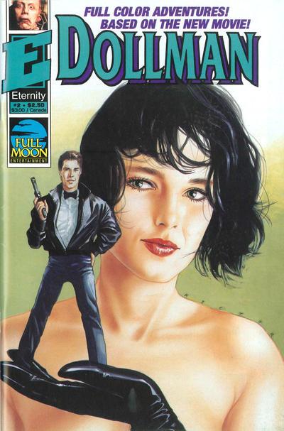 Cover for Dollman (Malibu, 1991 series) #2