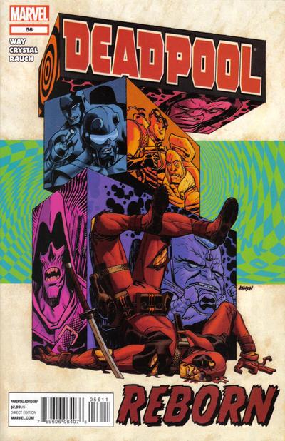 Cover for Deadpool (Marvel, 2008 series) #56