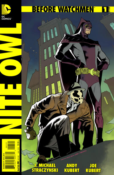 Cover for Before Watchmen: Nite Owl (DC, 2012 series) #1 [Combo-Pack]