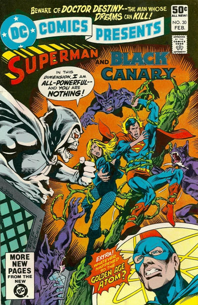 Cover for DC Comics Presents (DC, 1978 series) #30