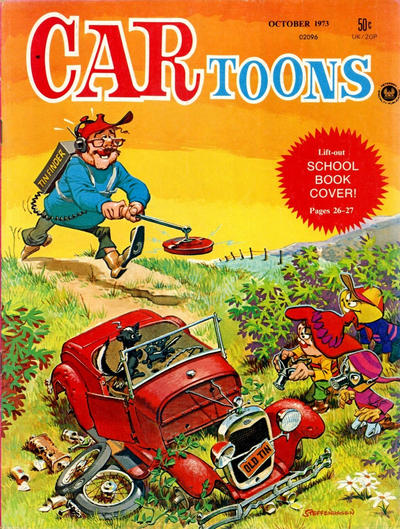 Cover for CARtoons (Petersen Publishing, 1961 series) #73